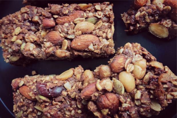 Chocolate & nuts bars (2)